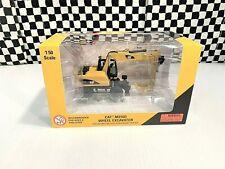 Norscot Caterpillar M316D Wheel Excavator - Yellow/Black - 1:50 Diecast MIB