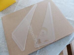 SAAB 96  V4  SAAB 93  SAAB 95 door glass wind deflectors -   a pair