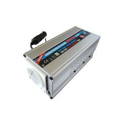 CONVERTISSEUR 12/24V AUTOMATIQUE 220V 200W AVEC PRISE USB 0.5A