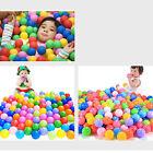 100pcs Secure Baby Kids Pit Toy Swim Fun Colorful Soft Plastic Ocean Ball S2EG