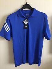 Adidas Puremotion Cool Max Golf Shirt Polo Ss Blue Mens Sz M Euc