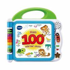 vtech Baby Lernspaß Mein 100-Wörter-Buch - Lernspielzeug für 2-5 Jahre - bunt
