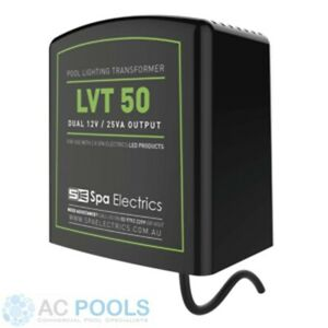 Spa Electrics Pool Light Transformer 12v Dual Output 50VA (50 Watt)
