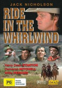 RIDE IN THE WHIRLWIND REGION PAL (JACK NICHOLSON) - Rare DVD Aus Stock New