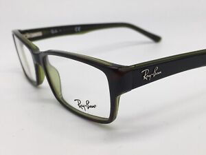 Glasses ray ban RB 5169 Black Green Narrow Small Modern Size S - M + Case New