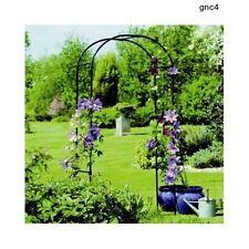 Rose Arch Arbor Trellis Patio Garden Plants Walkway Metal Backyard Furniture Ivy