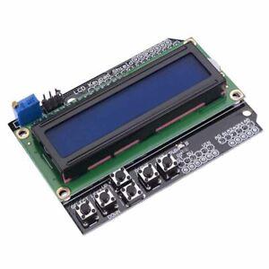 LCD Keypad 1602 16x2 Display Shield for Arduino UNO or Mega 2560