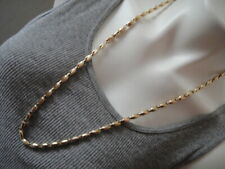 10K YELLOW GOLD CHAIN NECKLACE 28.9 GRAMS NO SCRAP