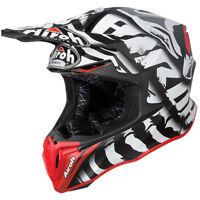 2019 Airoh Twist LEGEND Black Matt Helmet Motocross Enduro M 57-58cm