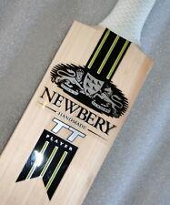 1 X NEWBERY TT PLAYER UK Cricket Bat Stickers - One SET + 1 CONTROL GRIP FREE!!