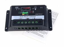 30A PWM Solar Panel Battery Regulator Charge Controller 12V/24V