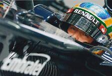 Bruno Senna Hand Signed 12x8 Photo Williams F1 1.