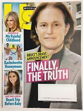 Us Weekly Magazine 2/9/2015 Bruce Jenner Kate Middleton Jennifer Aniston