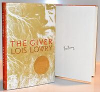 ***SIGNED 1st Printing*** The Giver AUTOGRAPHED by Lois Lowry (NEW) HX