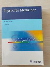 Physik für Mediziner von Walter Seibt (2009, Taschenbuch)