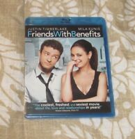 FRIENDS WITH BENEFITS BLU-RAY DISC BRAND NEW FREE SHIPPING/MILA KUNIS/TIMBERLAKE