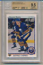 1990 Upper Deck Alexander Mogilny (RC) (#24) (Sub grades 3-9.5's/1-9) BGS9.5 BGS