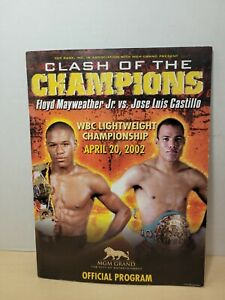2002 Floyd Mayweather vs Jose Luis Castillo - Official WBC Title Fight Program
