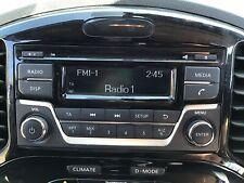 Nissan Juke Qashqai Radio Cd Player Genuine 2016