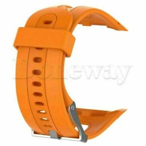 Silicone Replace Men & Women's Watch Band Strap for Garmin Forerunner 10 15 BUS