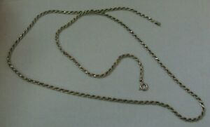 925 Italy Sterling Silver Chain - 24 inches