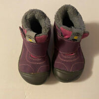 Keen Kootenay Faux Shearling Girls Youth Sz 7 Purple Winter Boots Waterproof