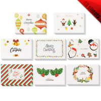 48 Pack Greeting Cards Assorted 8 Designs of Merry Christmas Cards with Envelope