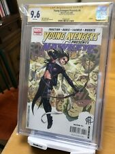 YOUNG AVENGERS PRESENTS #6 CGC 9.6 WP 1ST KATE BISHOP AS HAWKEYE SS CHEUNG 2ONLY