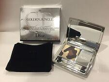 Nib Dior Golden Jungle Eye And Lip Mirror Palette Golden Browns 002 Shadow Gloss