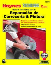 Manual automotriz para la Reparación de Carrocería & Pintura Haynes Techbook (