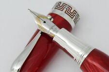 Montegrappa Red Miya Fountain Pen - M
