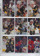 1994/95 FLAIR BASE HOCKEY SET 1-225