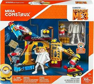 MEGA CONSTRUX DESPICABLE ME DRU'S LAIR 168 PCS