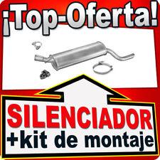 Silenciador Trasero OPEL COMBO 1.2 1.4 1.7D 1993-2001 Escape TUF