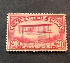 Us Stamp Scott# Q8 Airplane Carrying Mail 1913 L160
