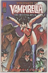 °VENGEANCE OF VAMPIRELLA ZERO°The mistery Walk: ZERO 1995 US Harris Comics