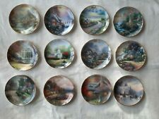 Thomas Kinkade full set of 12 calander plates
