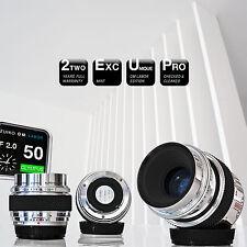 ***LIMITED: Olympus OM Zuiko Auto-MACRO 50mm f/2.0 CUSTOM || Canon Sony A7 µ4/3