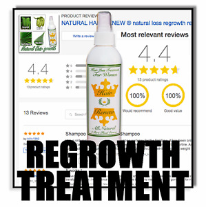 WOMENS HAIR RENEW® TREATMENT regrowth thin faster stronger growth menopause loss