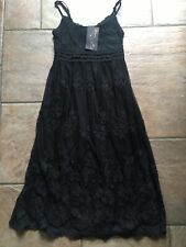 Ladies Clothes Size 10 - BNWT Black Lace Strappy Sundress Gorgeous