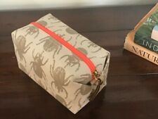 """NEW in Box, India Hicks """"The Beetle Bag"""", Discontinued, Rare, Beige, NWT"""