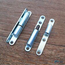 Renovierband Aufschraubband Renovier Scharnier  8 x 63 mm 2 Stück vernickelt