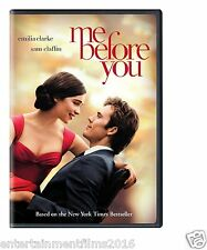 ME BEFORE YOU (DVD 2016) BRAND NEW!!! FREE SHIPPING ROMANCE