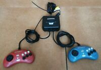 RADICA 2004 MEGA MEGADRIVE, STREET FIGHTER 2 & GHOULS'N GHOST Mini Home Console