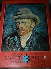 Jumbo 500 Master Puzzle, VINCENT VAN GOGH; SELF PORTRAIT WITH GREY HAT, RARE