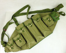 Surplus Chinese Military Magazine bag Canvas AK Chest Ammo Carrying Bag-D1056