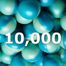 Lot of 10,000 0.68 Caliber Paintballs Rounds WHOLESALE BULK 5 CASE FREE SHIPPING
