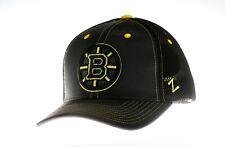 NHL Basecap Boston Bruins Zephyr Blacklight hat Baseballcap adjustable