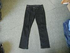 "George Straight Size 12 Leg 31"" Black Faded Ladies Jeans"