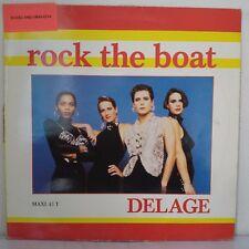 """Delage – Rock The Boat (Vinyl, 12"""", Maxi 45 Tours)"""